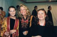 Con Isabella Borromeo e Marta Marzotto