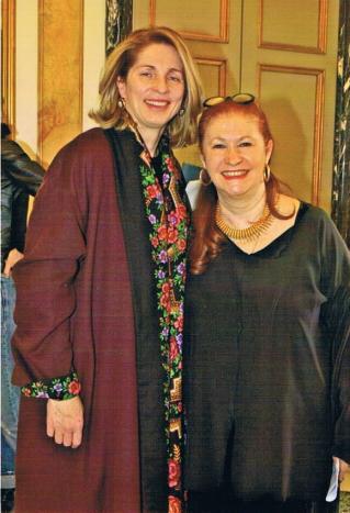 Con Roberta Filippini