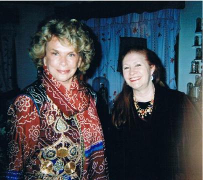 Con Doris Pignatelli